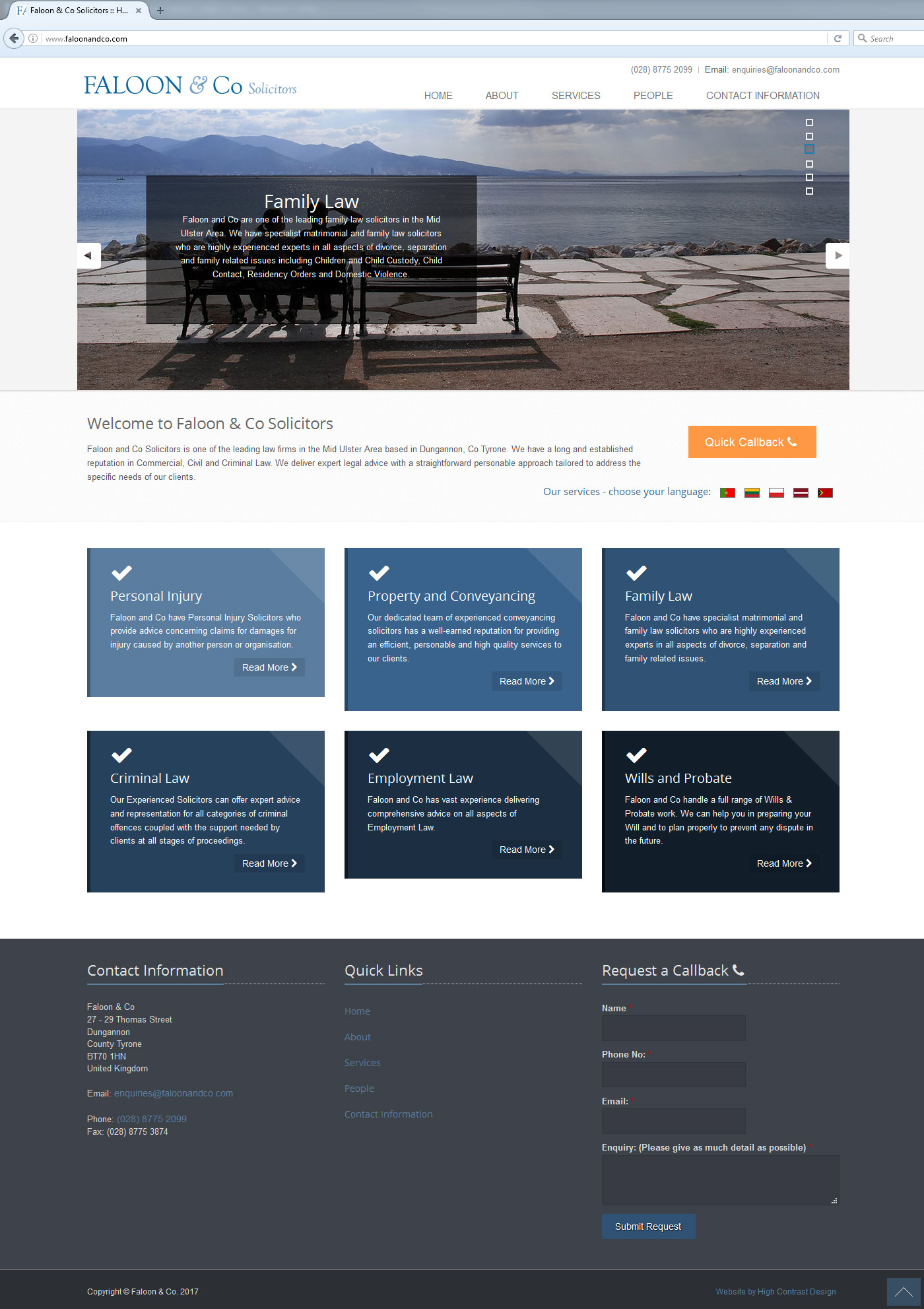 Faloon and Co Solicitors – website – Joseph McKenna